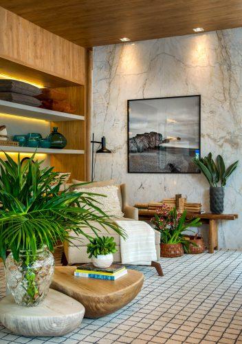 CasaShopping apresenta as tendências da decoração em mostra com mais de 70 ambientes, a partir de 4 de abril. Vitrine de Babi Teixeira