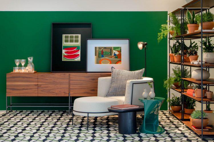 CasaShopping apresenta as tendências da decoração em mostra com mais de 70 ambientes, a partir de 4 de abril. Ambiente cristina Cortez.