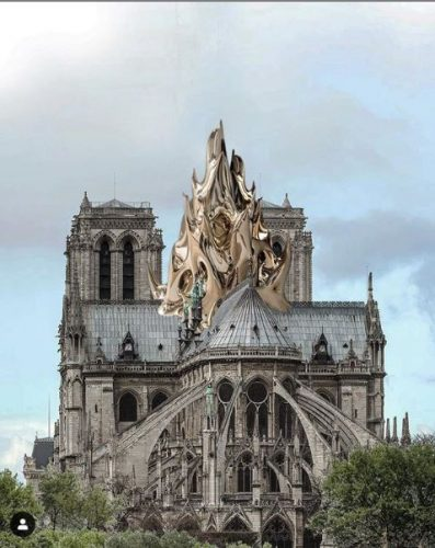 Proposta para a reconstrução da Notre Dame
