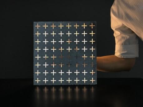 Lumina, concreto translúcido da Palazzo