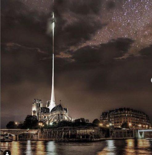 projeto de VisumAtelier para a reconstrução da Notre Dame