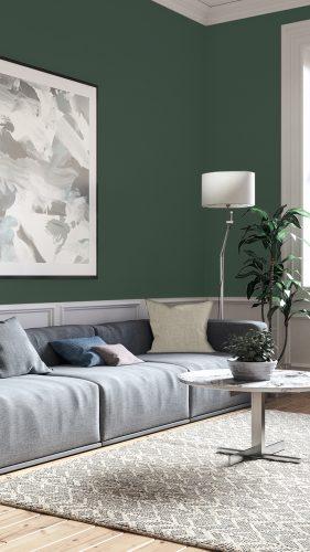 cor mata verde da Sherwin Williams