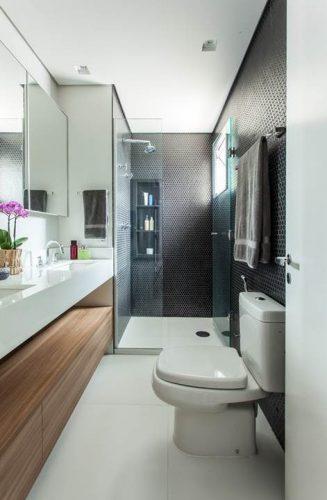 banheiro do casal assinado por Karina Korn