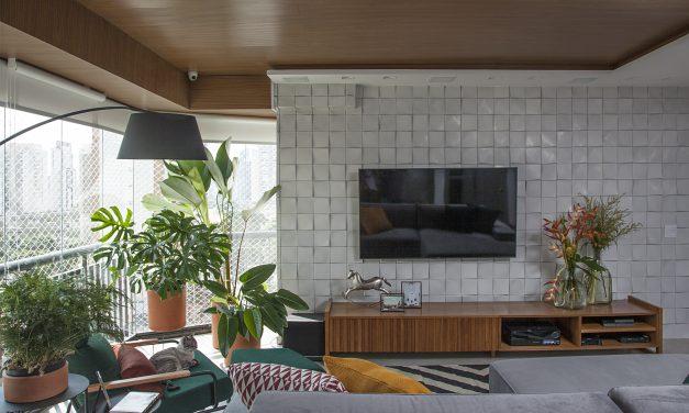 Reforma em um apartamento construído na década de 1980