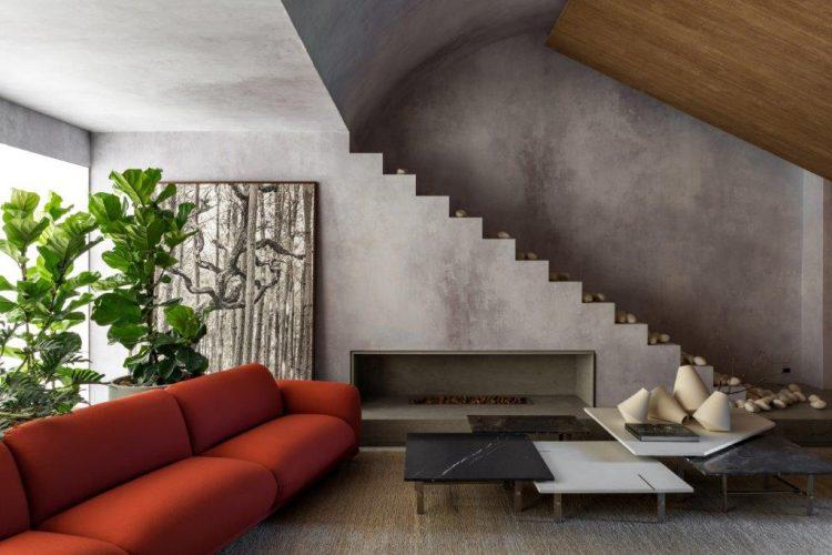 O Loft Refúgio, assinado pela arquiteta Consuelo Jorge para a CASACOR São Paulo 2019