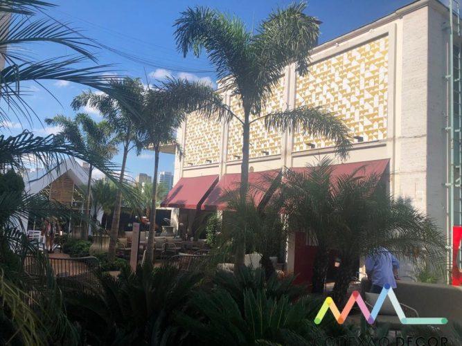 O olhar da Conexão Décor na CasaCor SP 2019. Parte 2. Fachada do restaurante com mosaicos de azulejo
