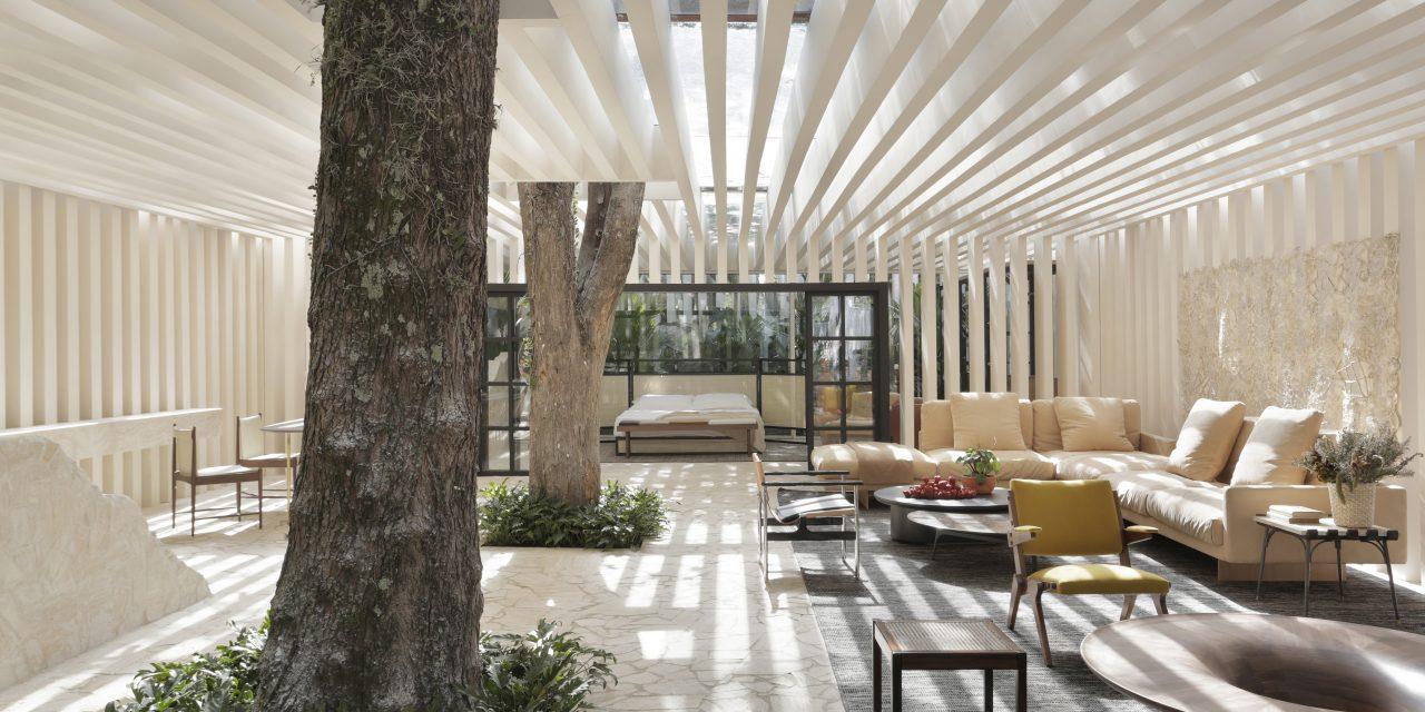 Casa das Sibipirunas: Otto Felix reinventa o conceito de casa de campo