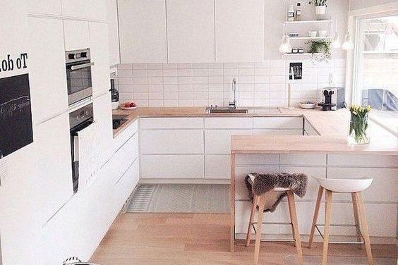 23 cozinhas com decoração escandinava para se deliciar