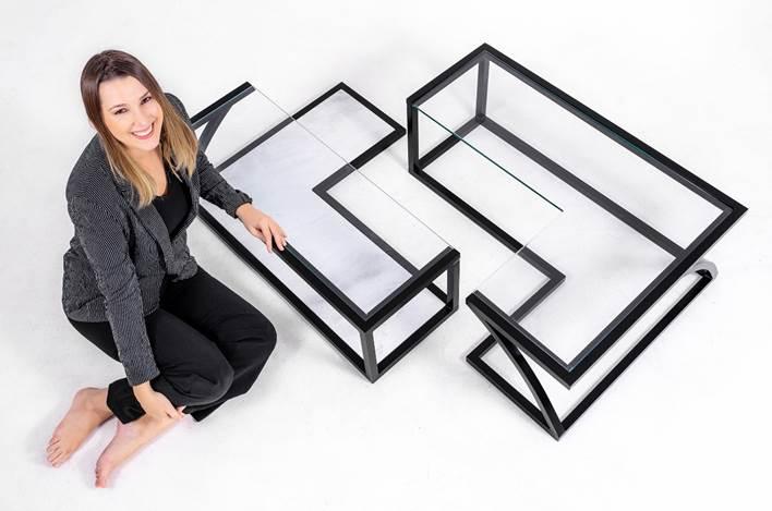 A 4ª edição da exposiçãoNOVOS TALENTOS DO DESIGN BRASILEIRO. Design Laís Piazza.