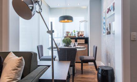 Jovem estudante ganha apartamento com espaços modernos e versáteis