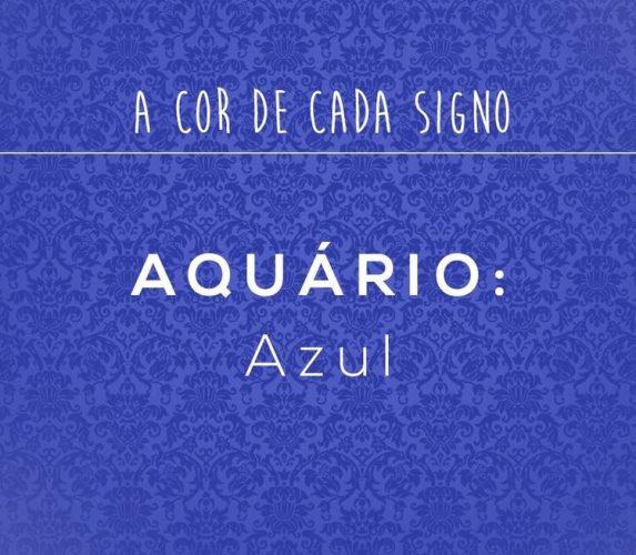os signos e suas cores na decoração, aquário cor azul