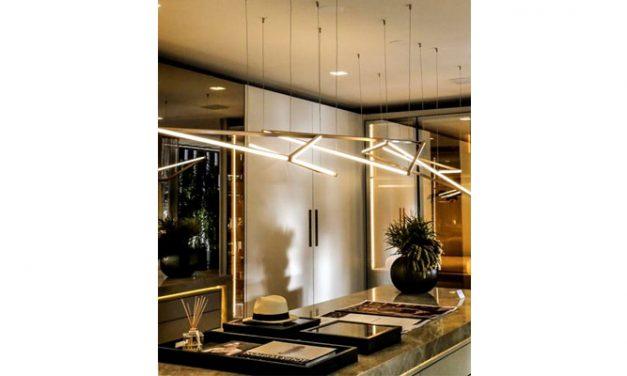 Debora Aguiar assina coleção de luminárias exclusivas para a Puntoluce