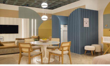 Arquiteta Camila Fleck assina o Mini Apê Cores