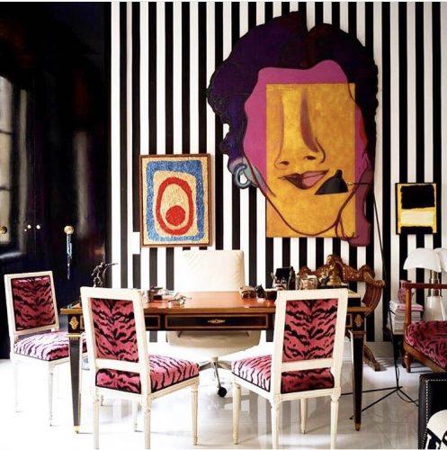 Estilo de decoração, Maximalismo. Ambiente de Sig Bergamin.