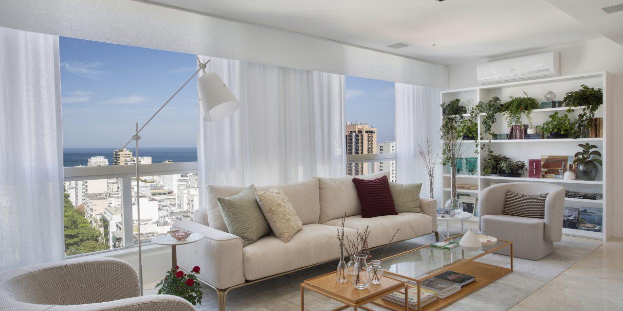 Adriana Esteves e Mariana Junqueira assinam reforma e decoração de apartamento