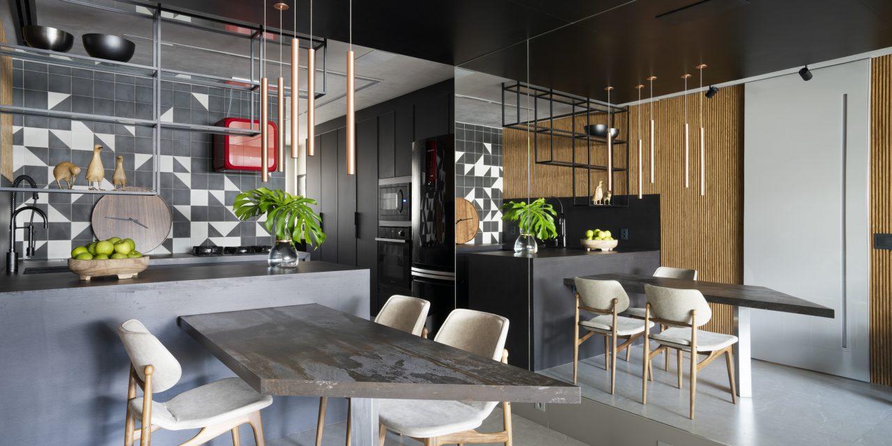 Apartamento de Flamenguista e colecionador, assinado por Paula Costa