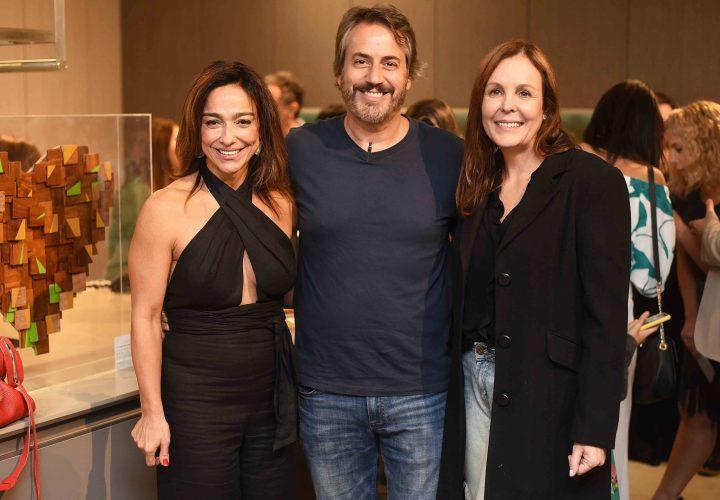 Ana Paula Iespa, Sergio Conde Caldas e Adriana Esteves