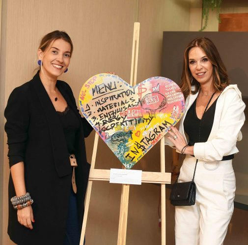 Carol Freitas e Esther Schattan