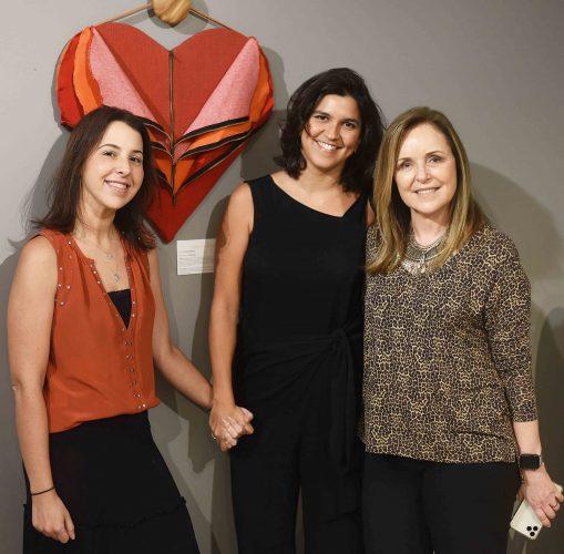 Juliana Goes, Carol Escada e Eliane Couto