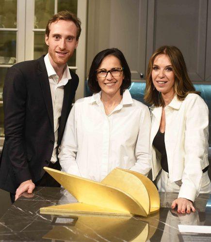 Stefan Schattan, Gisele Taranto e Esther Schattan