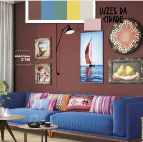 As cores de 2020 eleitas pelas Tintas Coral, Eucatex, Suvinil e Sherwin-Williams.