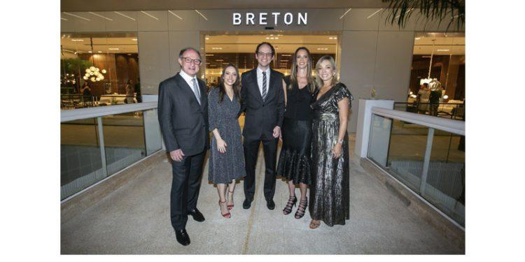 Breton inaugura sua primeira loja em Brasília