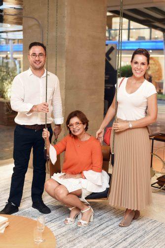 Bruno de Carvalho, Emmilia Dias Cardoso e Tatiana Lopes.
