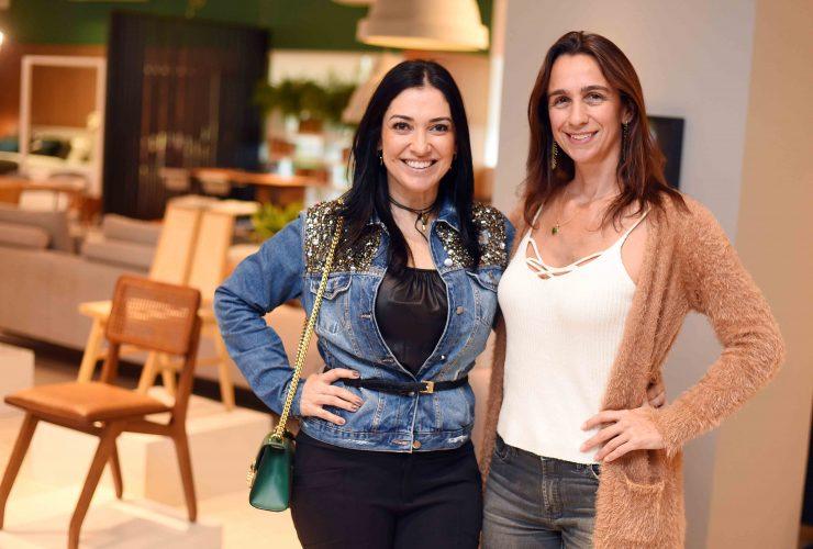 Cristina Cortes e Mabel Graham