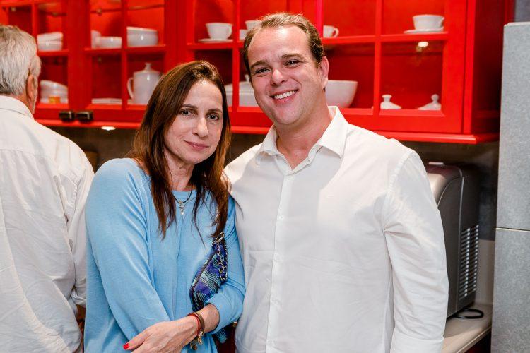 Mila Albuquerque e Helio Szalay