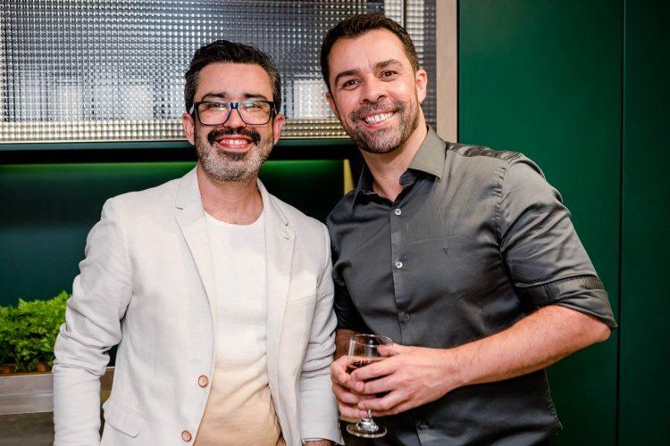 Paulo Santos e Marcio Marques.