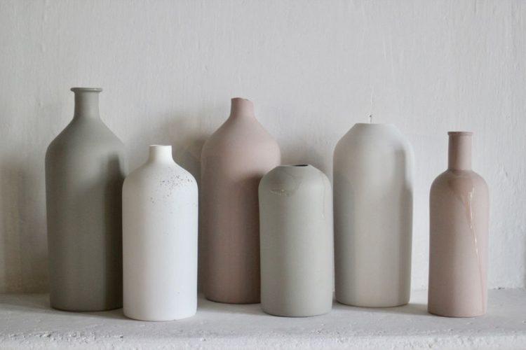 Maison&Objet , a maior feira de objetos, móveis e têxteis da Europa. Vasos em cerâmica