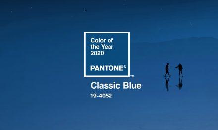 A cor de 2020: PANTONE 19-4052 Classic Blue
