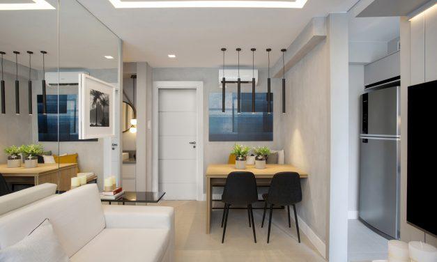 Pequeno notável: apartamento de 27m² em Piedade, zona norte do Rio de Janeiro.