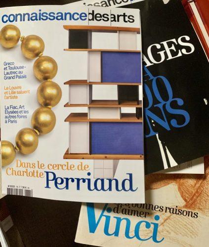 Paixões do arquiteto Chicô Gouvea. revistas de arte estrangieras