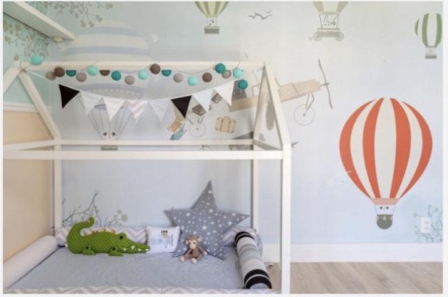 Inspirações de quartos infantis, por Lívia Quintella