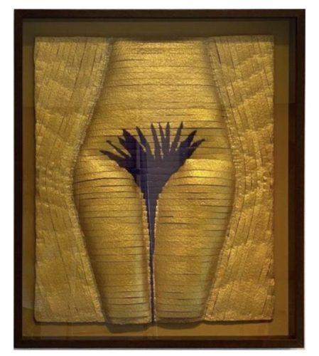 Trabalho em tapeçaria grossa , da artista plastica Anna Paola Protasio