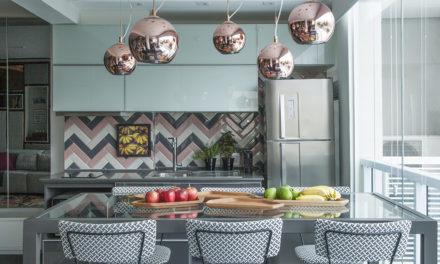 Cozinhas que expressam o amor e desejos pessoais dos moradores