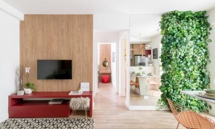 Apartamento valoriza iluminação natural e foca em integrar espaços e reabastecer as energias