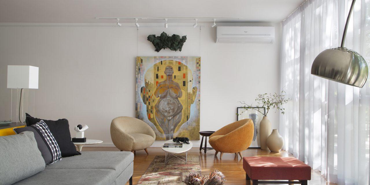 Reforma, decoração e restauração de apartamento dos anos 50 em Ipanema