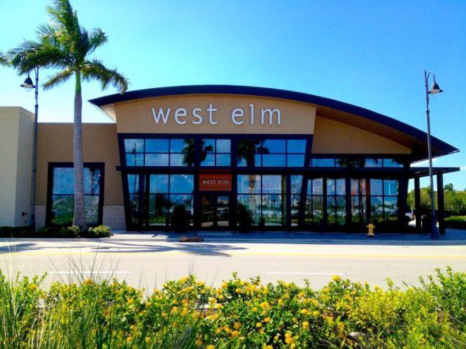 Fachada da loja Weta Elm em Miami.