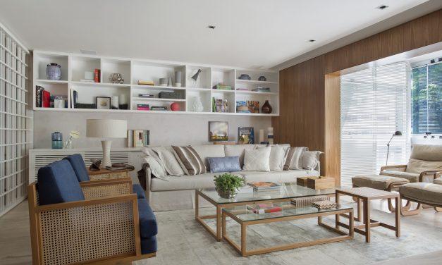Apartamento com décor contemporâneo chique
