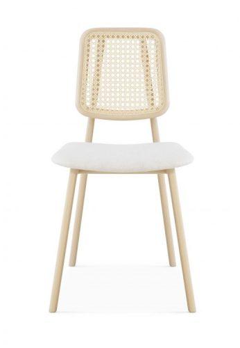 Novidade vindo de SP para o mercado de Décor no Rio. Marca OVO com design exclusivo.. Cadeira em madeira clara e encosto em palhinha