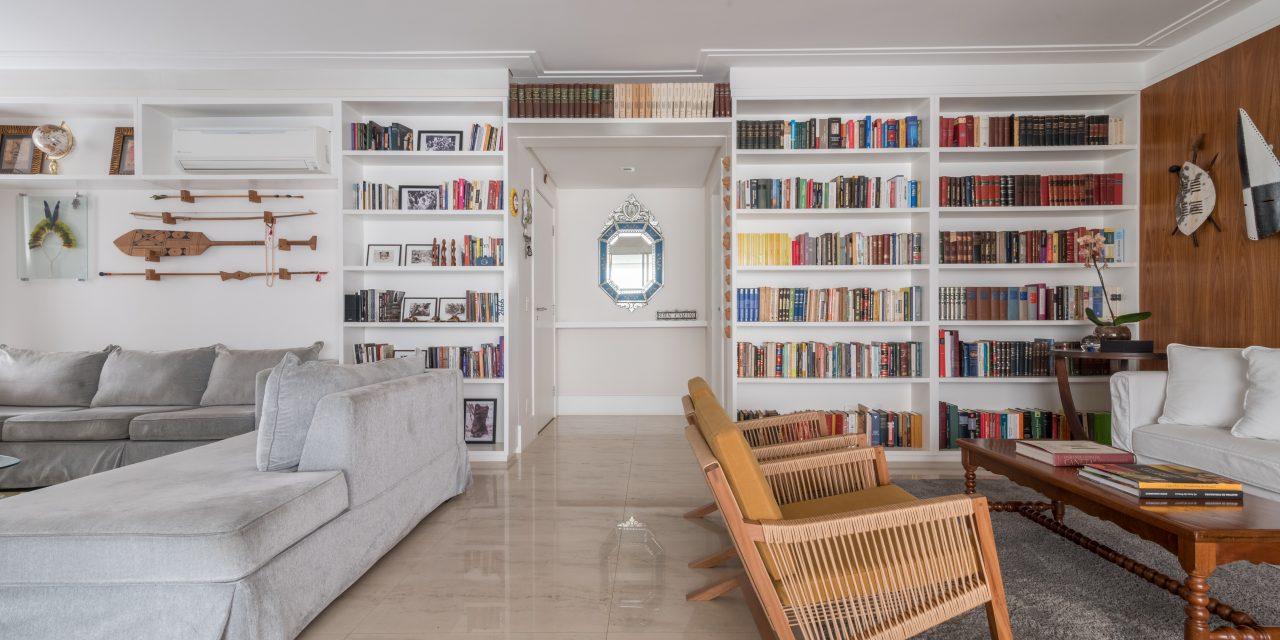 Projeto combina memória afetiva e modernidade em ambientes amplos