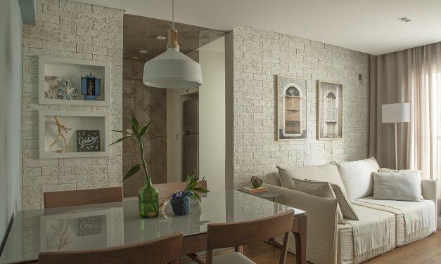 Apartamento de 40 m² com soluções para sua metragem