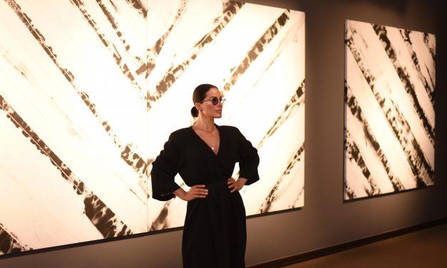 A artista plástica Paula Klien em Berlim