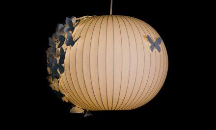 As clássicas luminárias Bubble customizadas