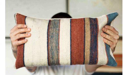 Upcycling – Coleção de objetos de decor e moda com de sobras de tapetes