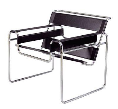 Wassily Chair. Poltrona Wassily design de Marcel Breuer