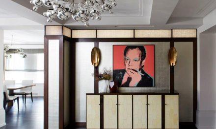 Apartamento com décor sofisticado em Manhattan, NY