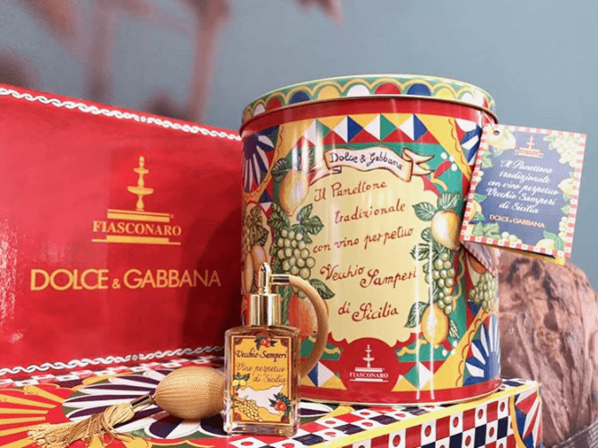 Dolce&Gabbana assina a lata de panettones